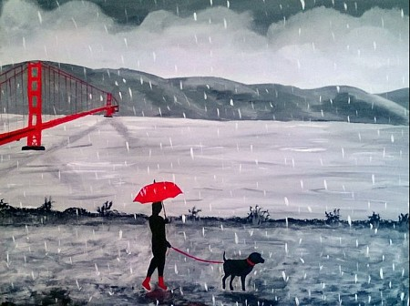 Raining Day and Monday`s painted by Aat Kuijpers