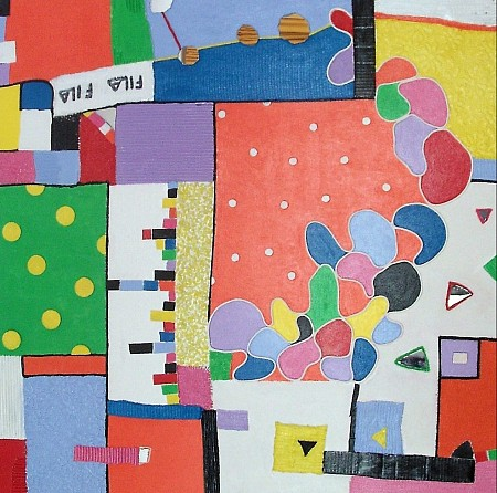 Vrij werk 8 painted by Anita Dielen
