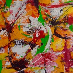 Vrij werk 2 painted by