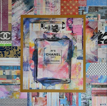 Chanel No5 painted by WVD ART