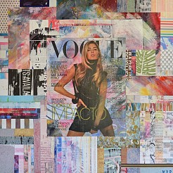 Vogue Doutzen painted by