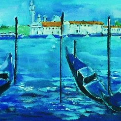 Venetie painted by