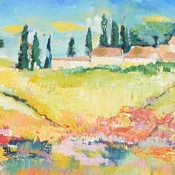 Toscane painted by