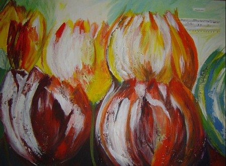 Lente painted by Ineke Grafe