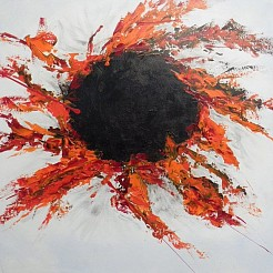 Nieuwe zon painted by