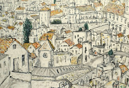 Matera painted by Kuhlmann Kunst