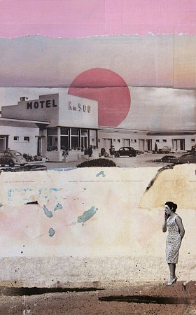 Motel 500 painted by Db Waterman
