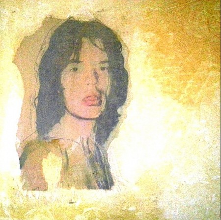 MickJagger painted by Rosita de Vree