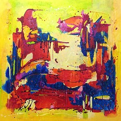 Communication 2 painted by