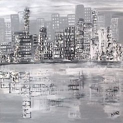 New york painted by