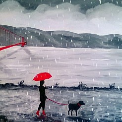 Raining Day and Monday`s painted by