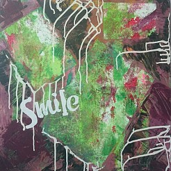 Smile painted by