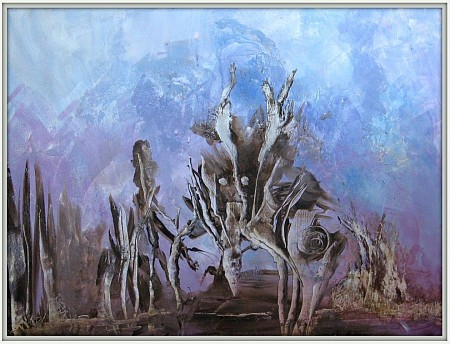 Zonder titel painted by Gerda Kwakkel