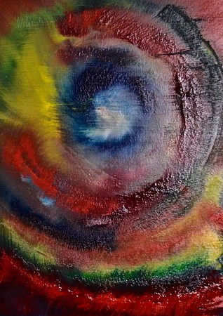 Abstract  oog painted by Enjoy painting