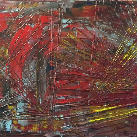 Abstract painted by Enjoy painting