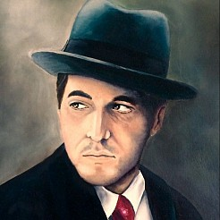 The godfather part ll painted by