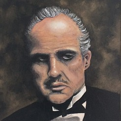 The godfather part l painted by