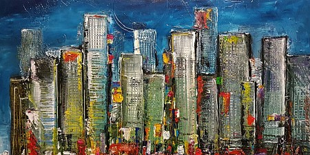 New York City painted by Patrick van Haren