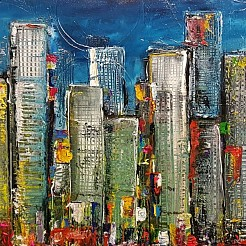 New York City painted by