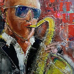 Jazz it Up painted by