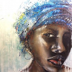 African Style painted by