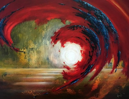 If I was a Storm II painted by Herold Boertjens