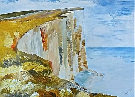 Dover painted by Irene van Uxem