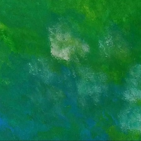 Green world painted by Art by Marlei