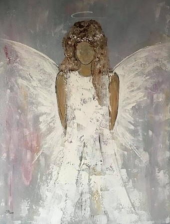 Angel of trust painted by Diney-Art