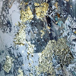 Gold leaf 2 painted by