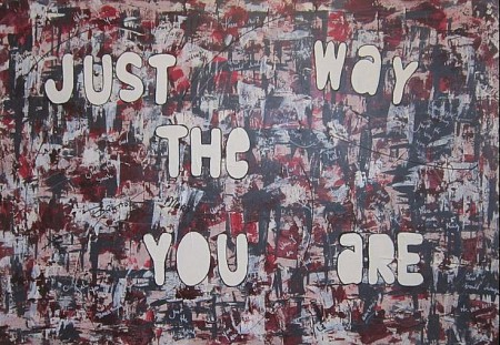 Just the way you are painted by Nelita Lelijveld