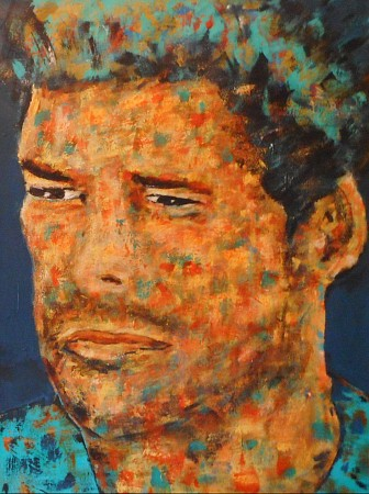 Friend 2 painted by Nelita Lelijveld