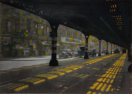 Under the Bridge painted by Db Waterman