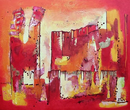 City Walls painted by Jolanda van  Hattum