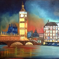 London painted by